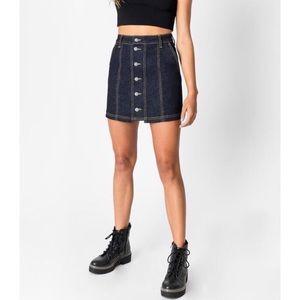 High wasted denim skirt- NWT